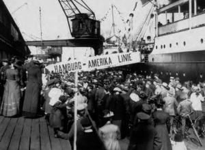 Auswanderer verlassen Deutschland