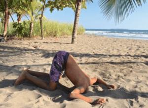 Kopf im Sand